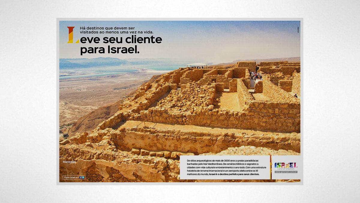 Massada. Campanha Israel trade 2016